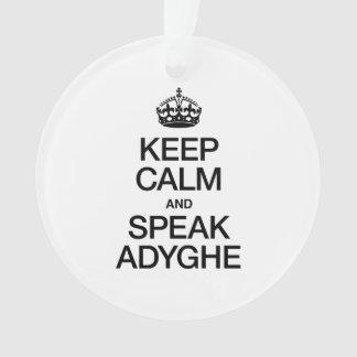 KEEP CALM AND SPEAK ADYGHE