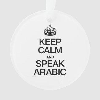 KEEP CALM AND SPEAK ARABIC