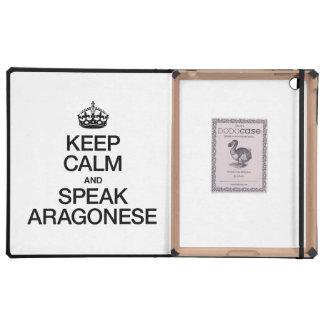 KEEP CALM AND SPEAK ARAGONESE CASE FOR iPad