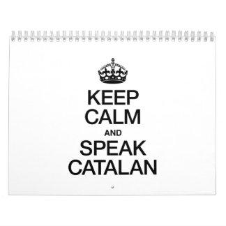 KEEP CALM AND SPEAK CATALAN CALENDAR
