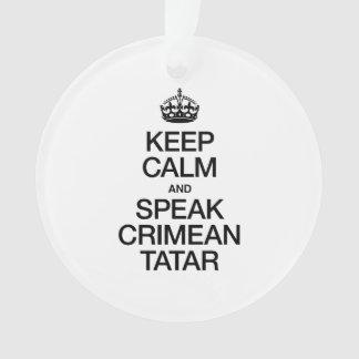 KEEP CALM AND SPEAK CRIMEAN TATAR