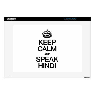 KEEP CALM AND SPEAK HINDI SKIN FOR LAPTOP