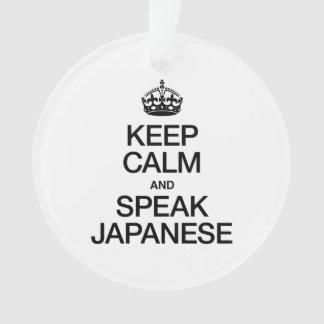 KEEP CALM AND SPEAK JAPANESE