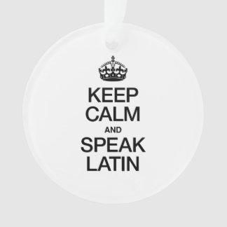 KEEP CALM AND SPEAK LATIN
