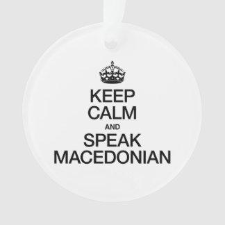 KEEP CALM AND SPEAK MACEDONIAN