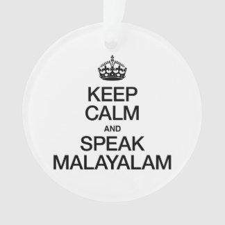 KEEP CALM AND SPEAK MALAYALAM