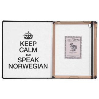 KEEP CALM AND SPEAK NORWEGIAN CASES FOR iPad