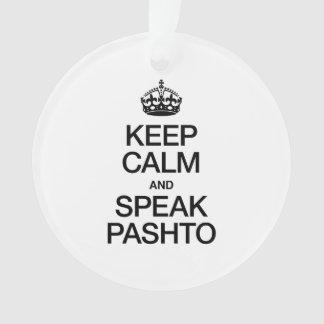 KEEP CALM AND SPEAK PASHTO