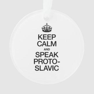 KEEP CALM AND SPEAK PROTO-SLAVIC