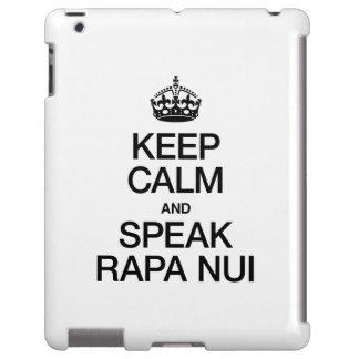 KEEP CALM AND SPEAK RAPA NUI