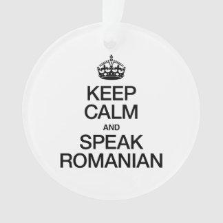 KEEP CALM AND SPEAK ROMANIAN