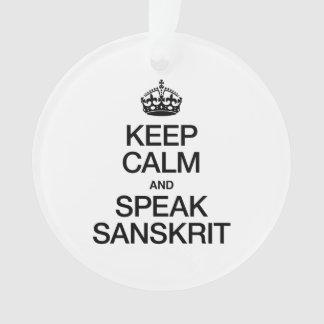 KEEP CALM AND SPEAK SANSKRIT