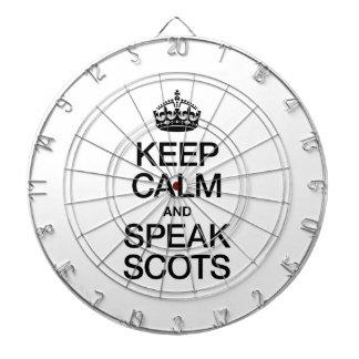 KEEP CALM AND SPEAK SCOTTISH GAELIC DART BOARD