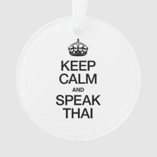 KEEP CALM AND SPEAK THAI
