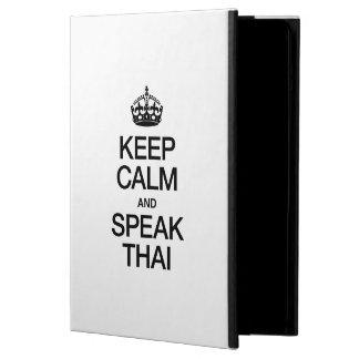 KEEP CALM AND SPEAK THAI COVER FOR iPad AIR