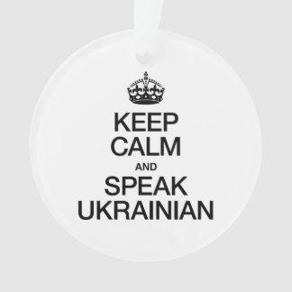 KEEP CALM AND SPEAK UKRAINIAN