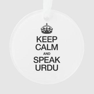 KEEP CALM AND SPEAK URDU
