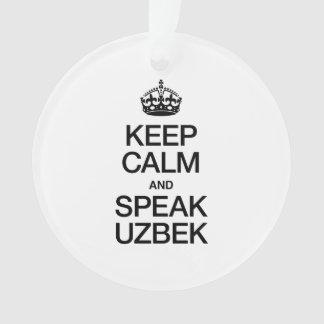 KEEP CALM AND SPEAK UZBEK