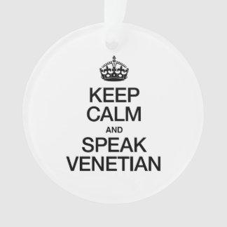 KEEP CALM AND SPEAK VENETIAN