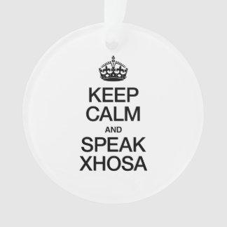 KEEP CALM AND SPEAK XHOSA