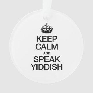 KEEP CALM AND SPEAK YIDDISH