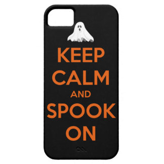 Keep Calm and Spook On iPhone SE/5/5s Case