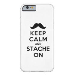 Case-Mate Barely There iPhone 6 Case with Keep Calm and Stach On design