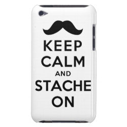 Case-Mate iPod Touch Barely There Case with Keep Calm and Stach On design