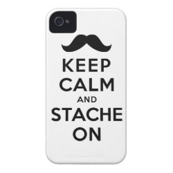 Case-Mate iPhone 4 Barely There Universal Case with Keep Calm and Stach On design