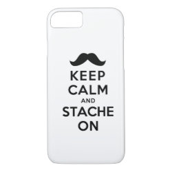 Case-Mate Barely There iPhone 7 Case with Keep Calm and Stach On design