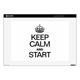 KEEP CALM AND STARE SKIN FOR LAPTOP