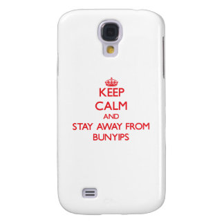Keep calm and stay away from Bunyips Galaxy S4 Cases