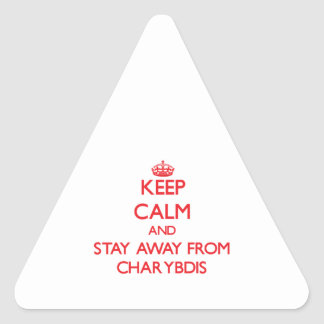 Keep calm and stay away from Charybdis Sticker