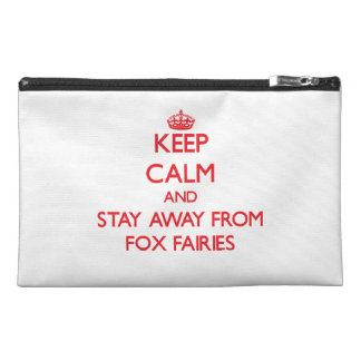 Keep calm and stay away from Fox Fairies Travel Accessories Bag