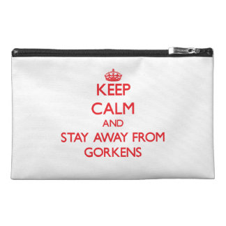 Keep calm and stay away from Gorkens Travel Accessories Bag