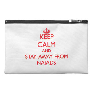 Keep calm and stay away from Naiads Travel Accessories Bags