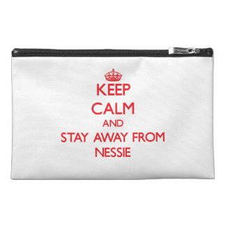 Keep calm and stay away from Nessie Travel Accessory Bags