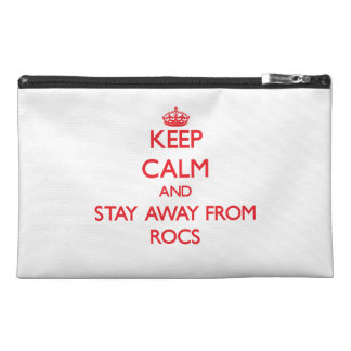 Keep calm and stay away from Rocs Travel Accessory Bag