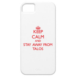 Keep calm and stay away from Talos iPhone 5 Cover