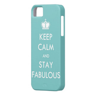Keep Calm and Stay Fabulous iPhone SE/5/5s Case