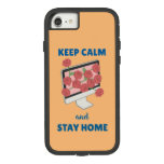 Keep Calm and Stay Home Case-Mate Tough Extreme iPhone 8/7 Case