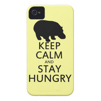 Keep Calm and Stay Hungry Case-Mate iPhone 4 Case