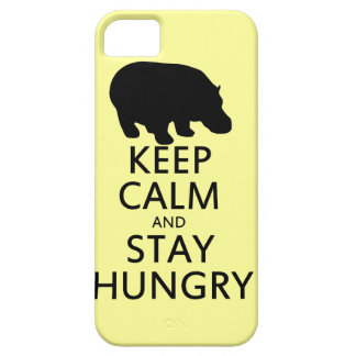 Keep Calm and Stay Hungry iPhone 5 Case