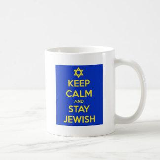 Keep Calm and Stay Jewish Coffee Mug