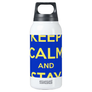 Keep Calm and Stay Jewish Insulated Water Bottle