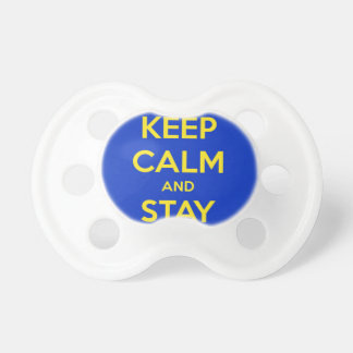 Keep Calm and Stay Jewish Baby Pacifiers