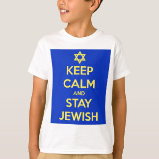 Keep Calm and Stay Jewish T-Shirt