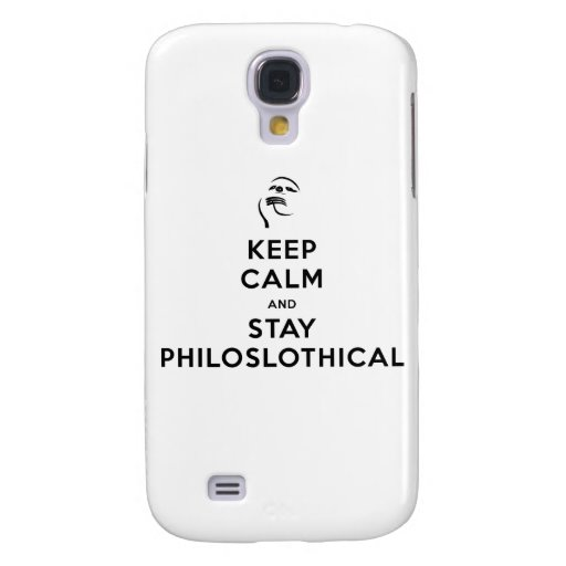 Keep Calm and Stay Philoslothical HTC Vivid Cover