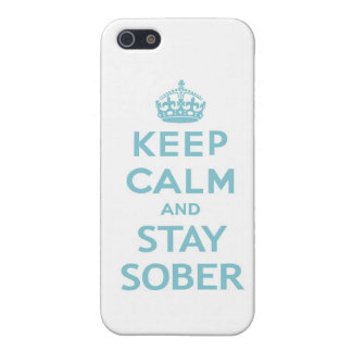 Keep Calm and Stay Sober Iphone Case