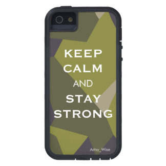 Keep Calm and Stay Strong iPhone SE/5/5s Case